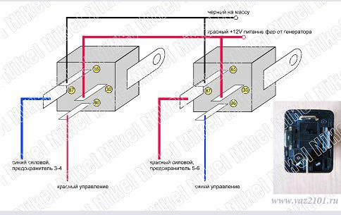 Схема подключения бачка омывателя 105