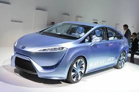Водородную Toyota покажут осенью в Токио
