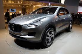 Кроссовер Maserati получит дизельный V8