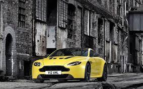 Aston Martin рассекретила свой новый Vantage S