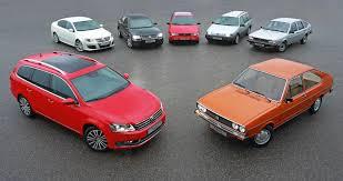 Volkswagen Passat - 40 лет производства