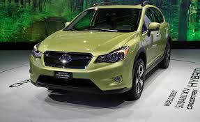 Первый гибрид от Subaru