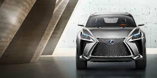 Lexus LF-NX Concept - новый эксперимент с дизайном