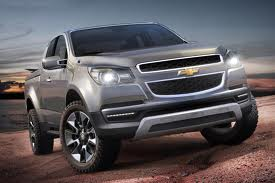 Chevrolet Colorado нового поколения