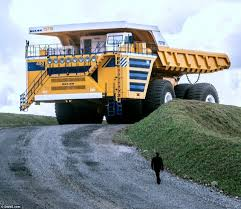 Наибольший в мире грузовой автомобиль