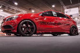 Mercedes-Benz A45 AMG от компании по тюнингу Mcchip-DKR