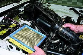 Как заменить воздушный фильтр?