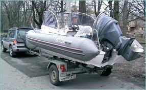 Перевозки катеров с помощью внедорожников