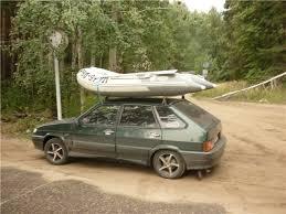 Транспортировка лодки на автомобиле