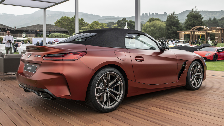 BMW показал невероятный Z4 M40i Roadster First Edition (фото)