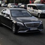 Олигархам на заметку: В Украине уже видели новейший Mercedes Maybach за 5 миллионов