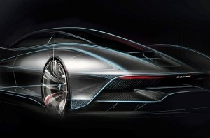Суперкар McLaren Speedtail получит шильдики из белого золота