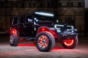 Тюнинг-ателье Oracle Lighting заставило Jeep Wrangler светиться